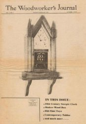 Книга Woodworker's Journal January-February 1977