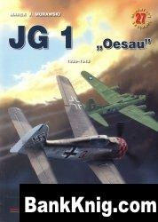Книга Kagero Miniatury Lotnicze 27 JG 1 Oesau