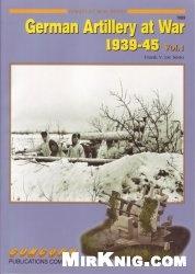 Книга Concord Armor At War Series 7059 German artillery at war 1939 45 vol 1