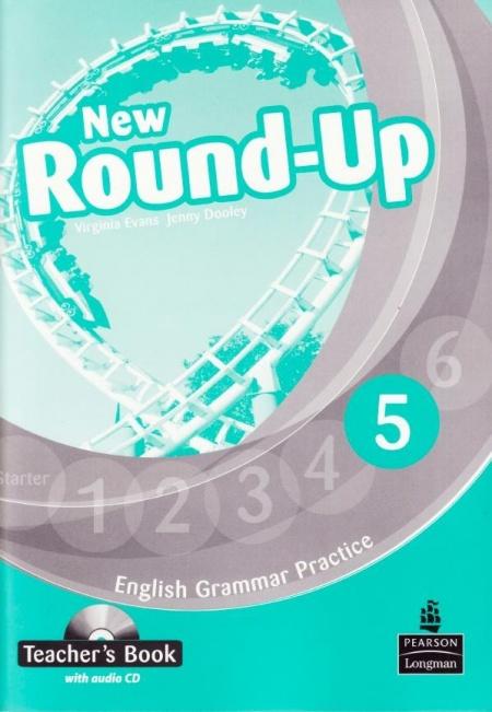 Книга Английский язык Teacher's book New Round Up 5 Virginia Evans, Jenny Dooley, Irina Kondrasheva