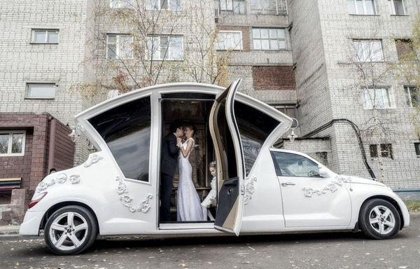 Свадебный лимузин-карета