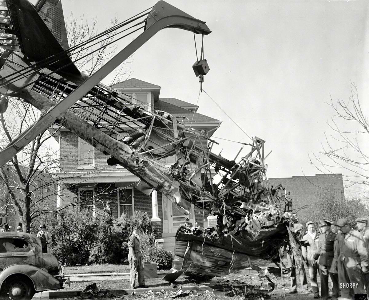 Самолеты и пилоты начала 20-го века на снимках американских фотографов (44)
