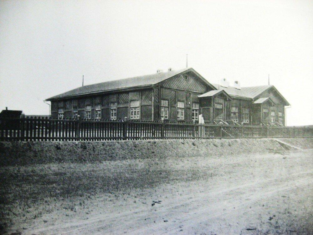34. Дом отдыха паровозных бригад на станции Зилово