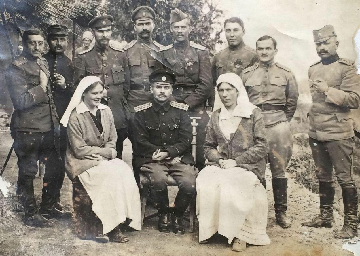 Офицеры Особых пехотных полков