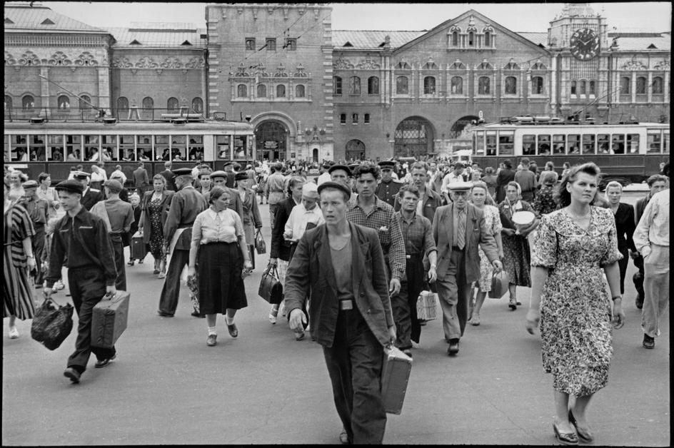 1954. Москва. Ленинградский вокзал