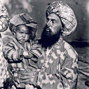 Самарканд. Отец и сын
