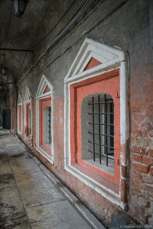 Нижний этаж Нарышкинских палат