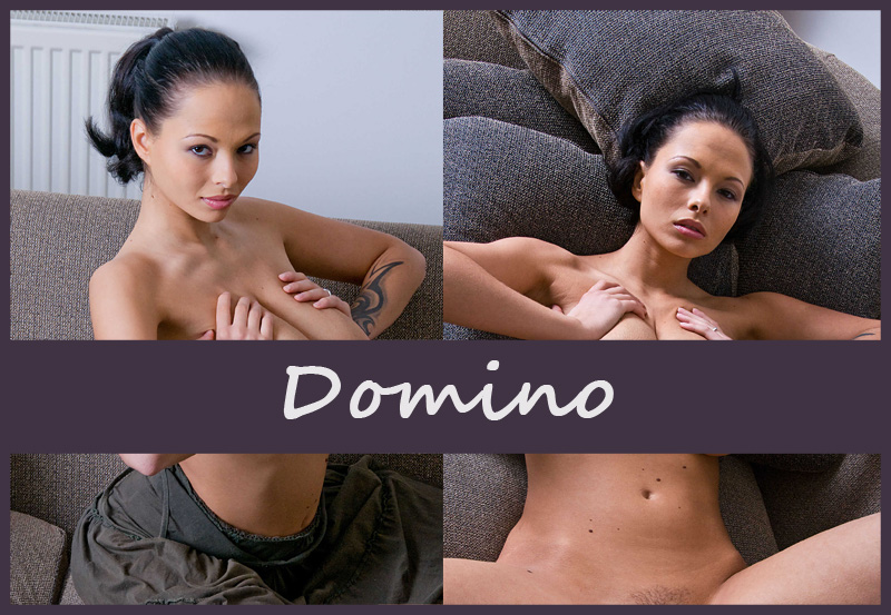 Пышногрудая чешская модель Domino