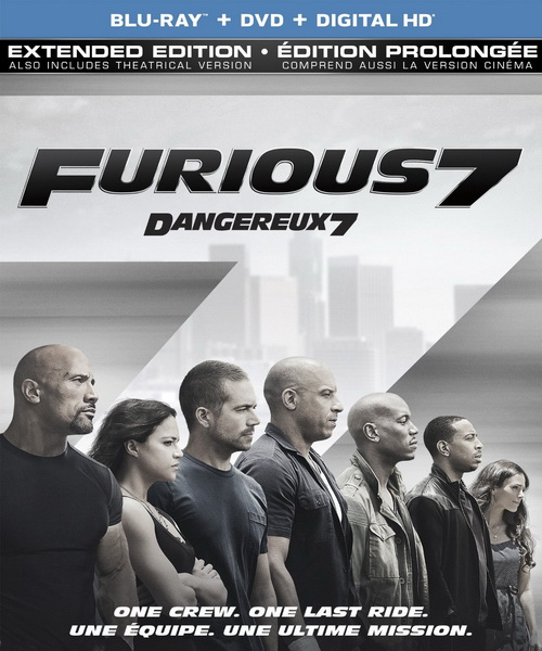 Форсаж 7 / Furious 7 [THEATRICAL & EXTENDED] (2015/BDRip/HDRip)