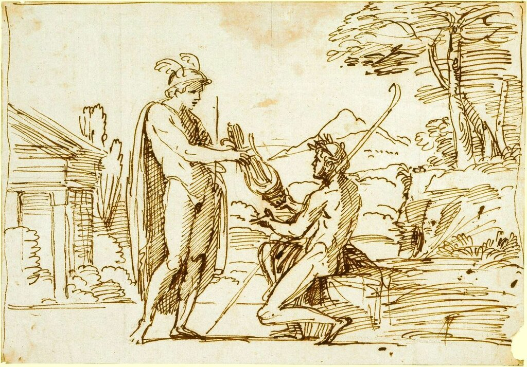 Annibale_Carracci,_Apollo_receiving_the_lyre_from_Mercury.jpg