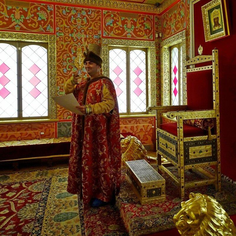 Дворец Алексея Михайловича. Престольная палата Царя.JPG