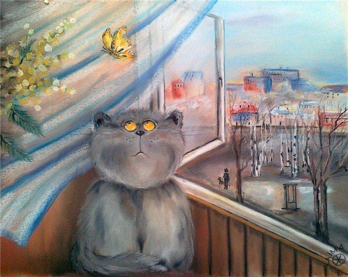 Коты Ольги Журавлевой