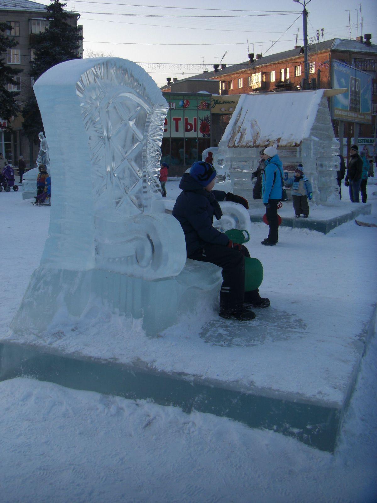 Ледяной трон для царевн ицаревичей (09.02.2015)