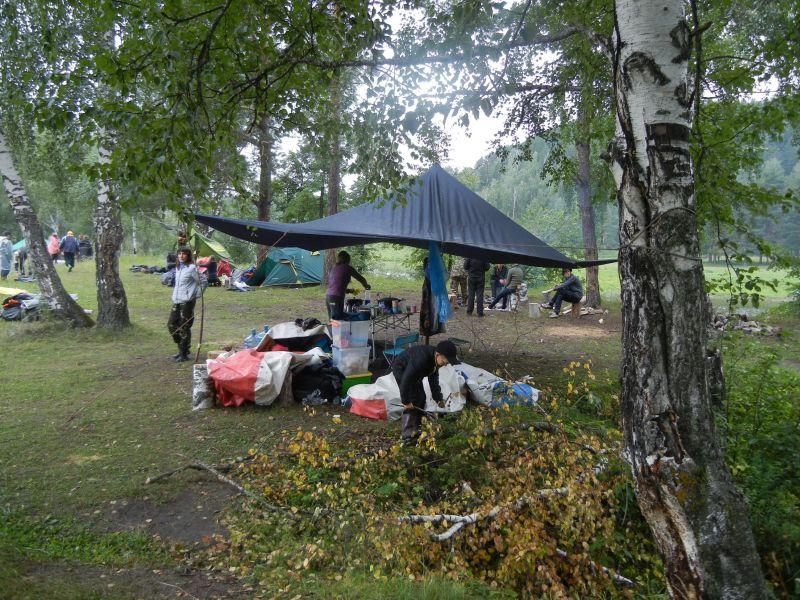 Наше место стоянки (18.08.2015)