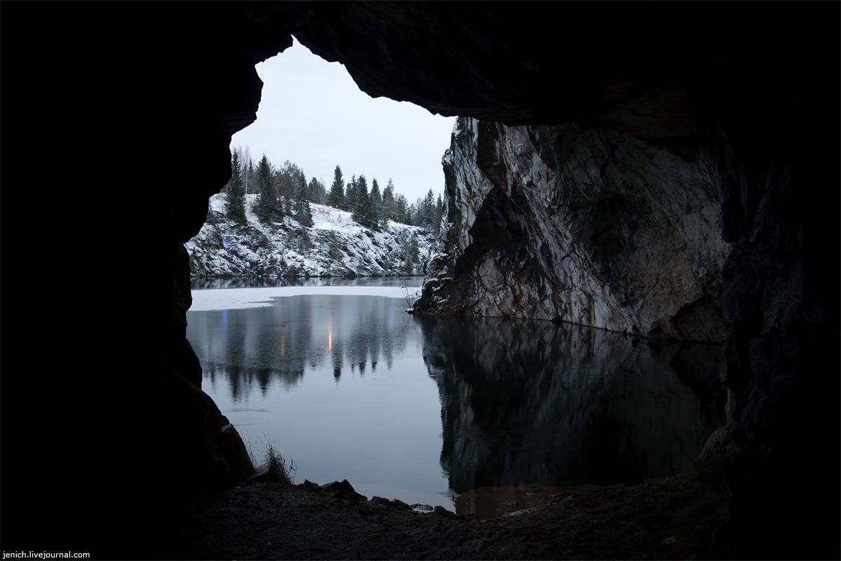 фото, фотография, Рускеала, горный парк, карьер, завод, печи, штольни, пещеры