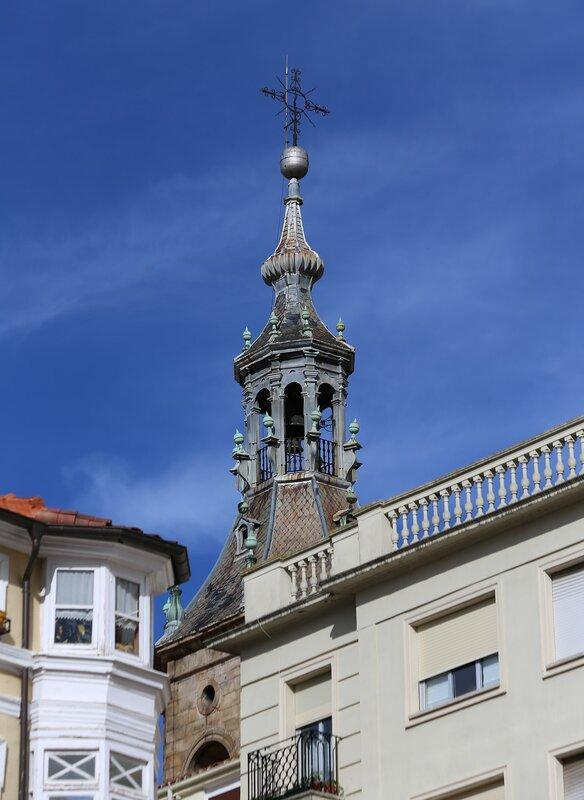 Vitoria-Gasteiz. Church Of The Apostle Peter.