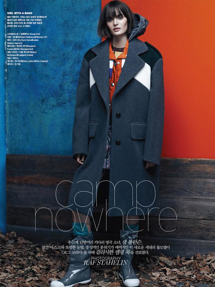 Сэм Роллинсон (Sam Rollinson) в журнале Vogue Korea