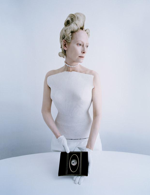 Тильда Суинтон (Tilda Swinton) в журнале W Magazine