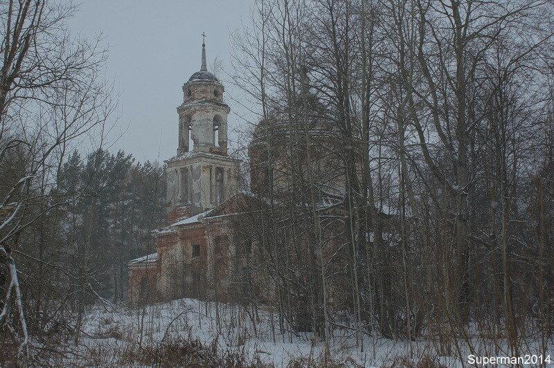 Храм Спаса Нерукотворного Образа в Братково