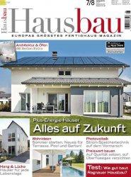 Журнал Hausbau - Juli/August 2014