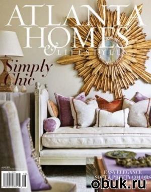 Книга Atlanta Homes & Lifestyles - June 2012