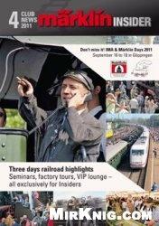 Журнал Marklin Insider 2011-04