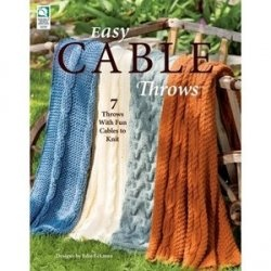 Книга Easy Cable Throws