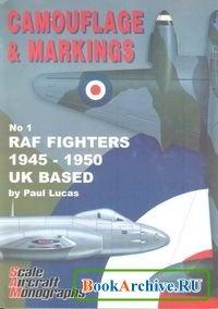 Книга SAM Camouflage & Markings No 1: RAF Fighters 1945-1950 UK Based.
