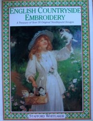 Книга English countryside embroidery