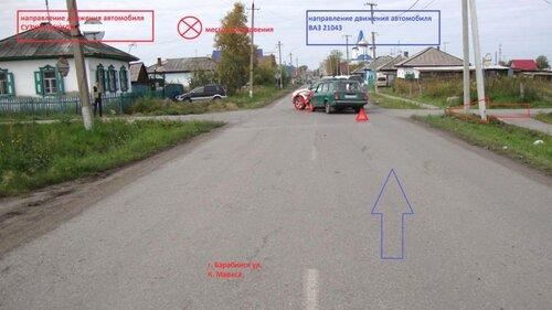 Аварии в сентябре в Барабинске