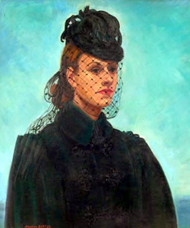 veil Macena Alberta Barton (American artist, 1901–1986) Self Portrait.jpg