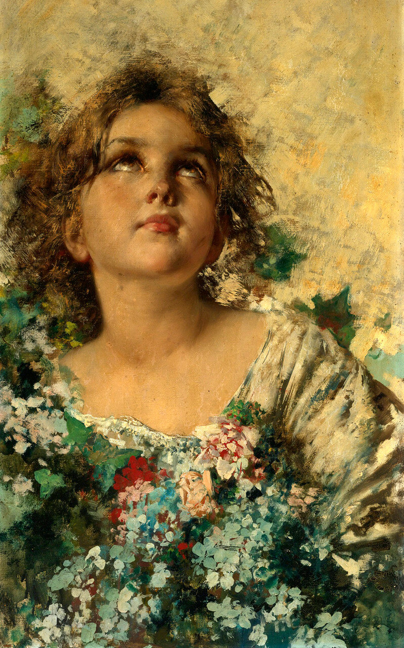 Итальянский художник Vincenzo Irolli (1860-1949)