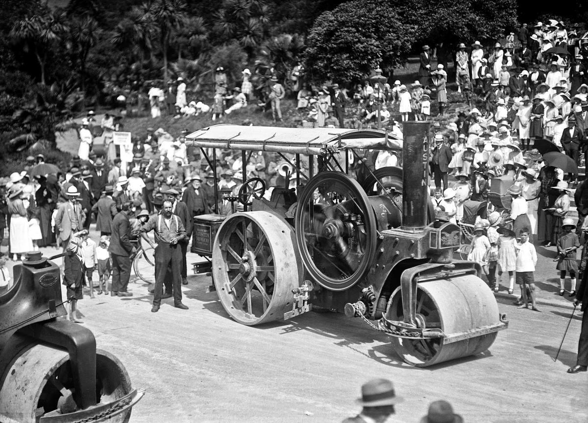 Специализированные транспортные средства начала 20-го века на снимках американских фотографов (41)