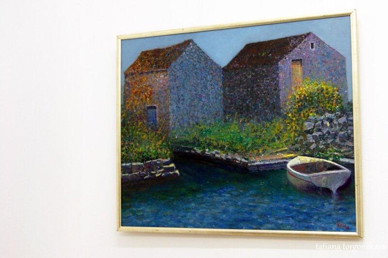 Картина с выставки Кемаля Рамюкича