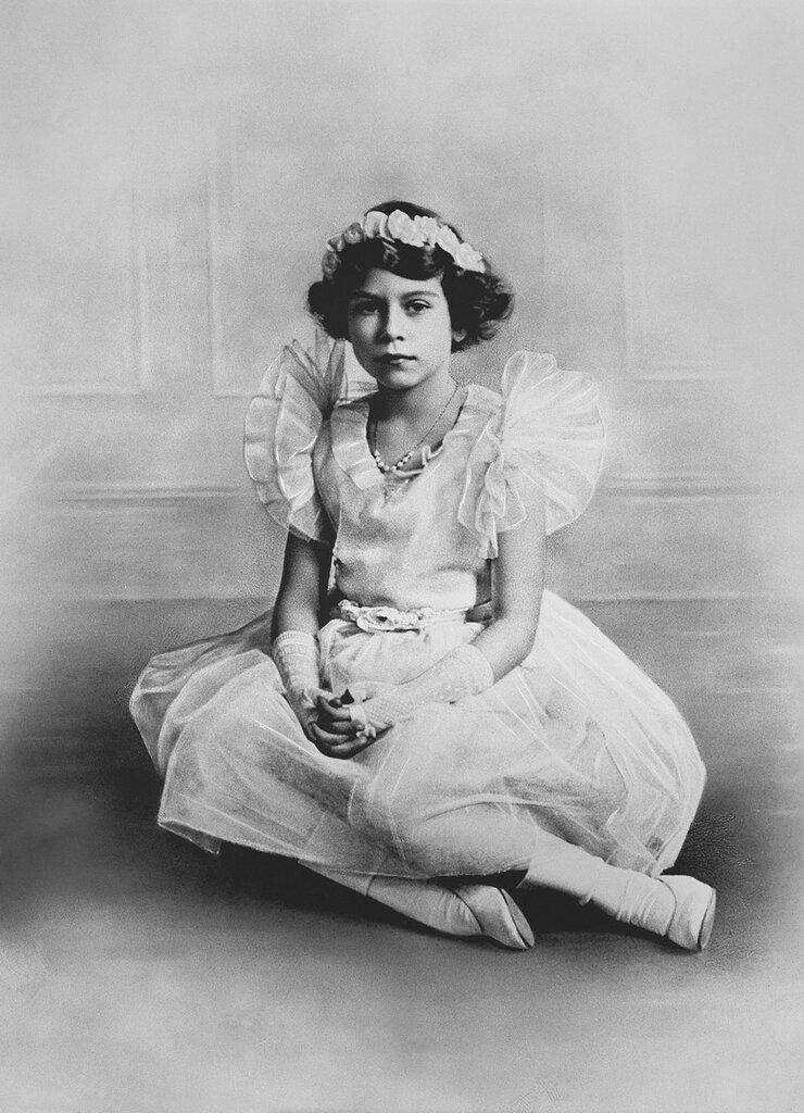 BassanoHM Queen Elizabeth II (b.1926) when Princess Elizabeth of York  circa 1934circa 1935