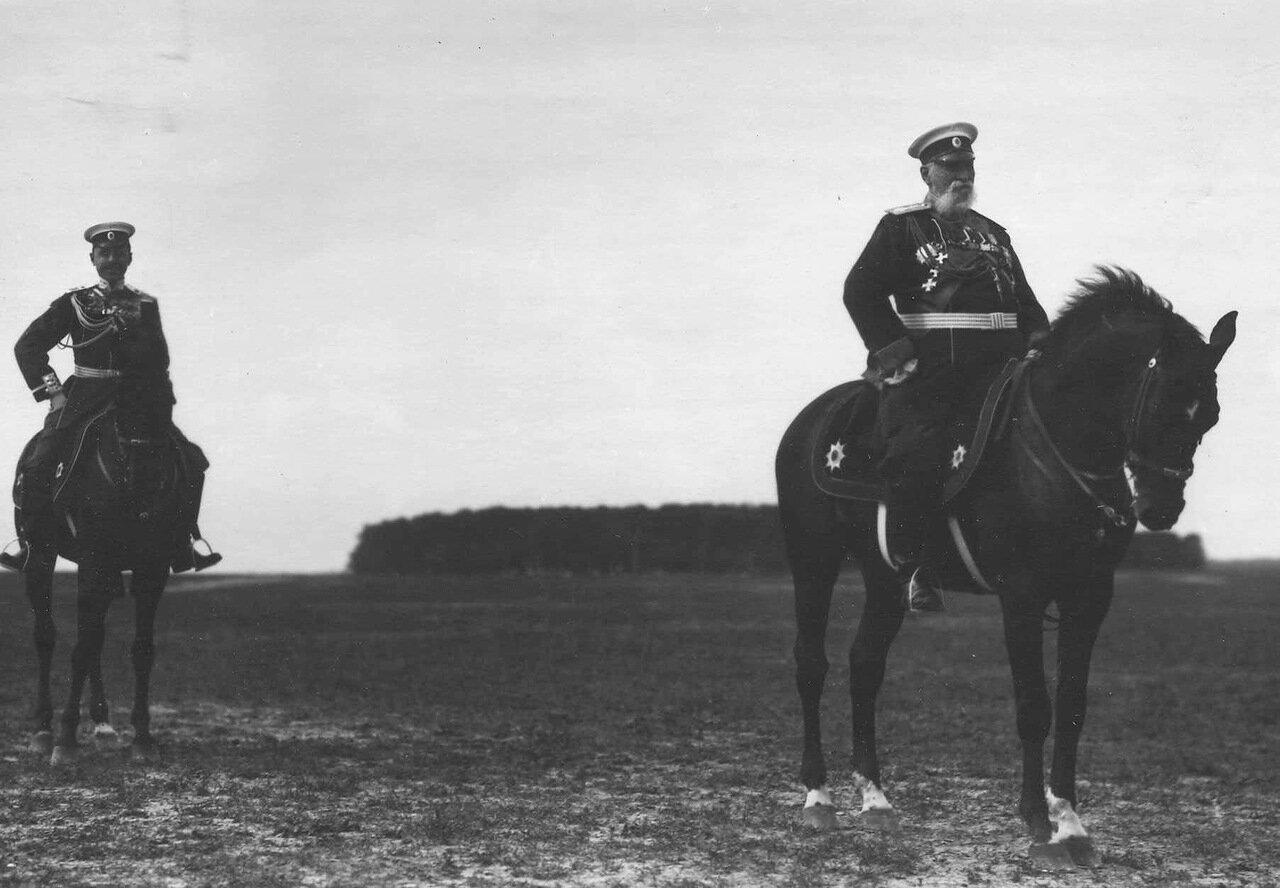 16. Генералы на параде в честь приезда итальянского короля Виктора Эммануила III