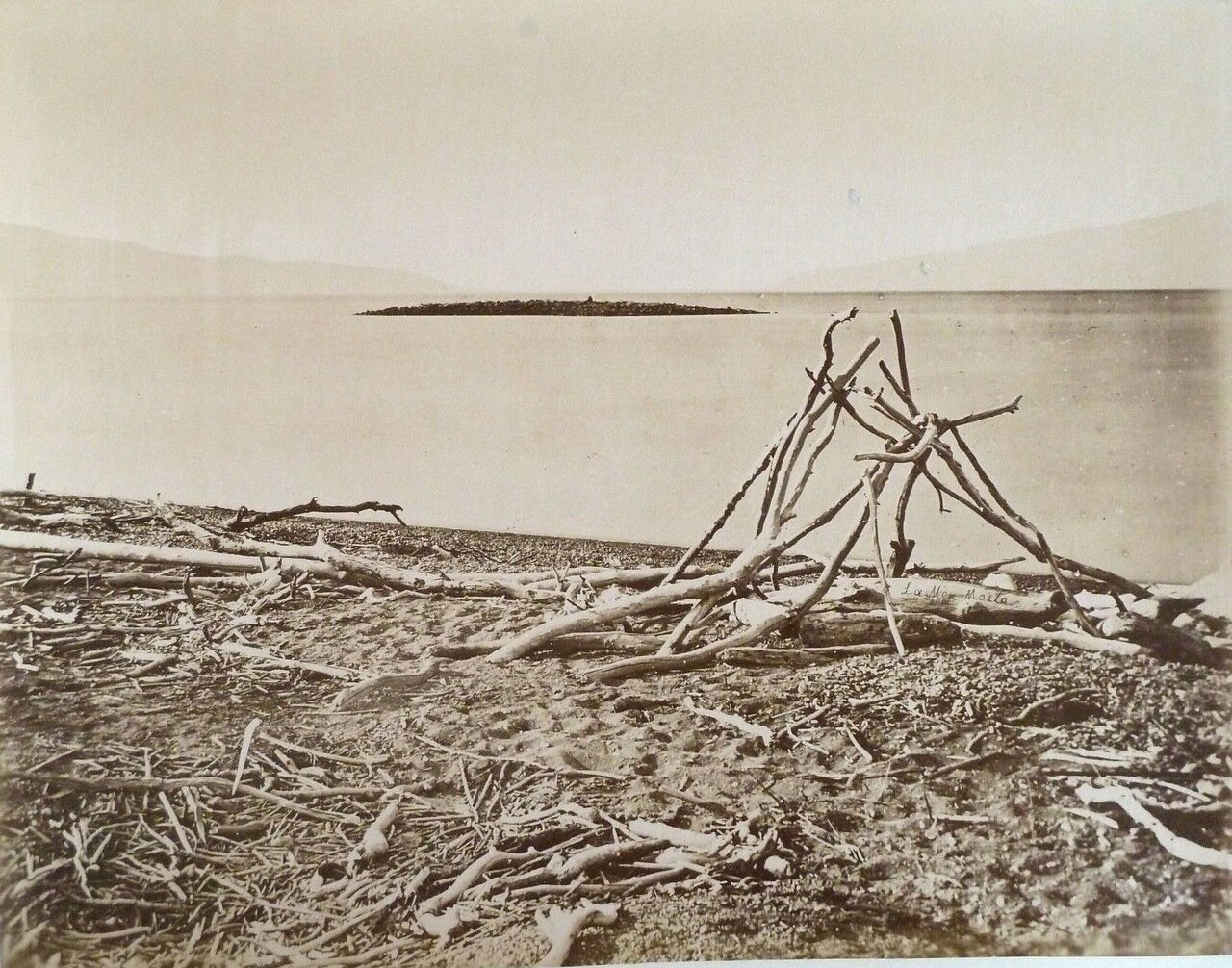 Мертвое море. 1882