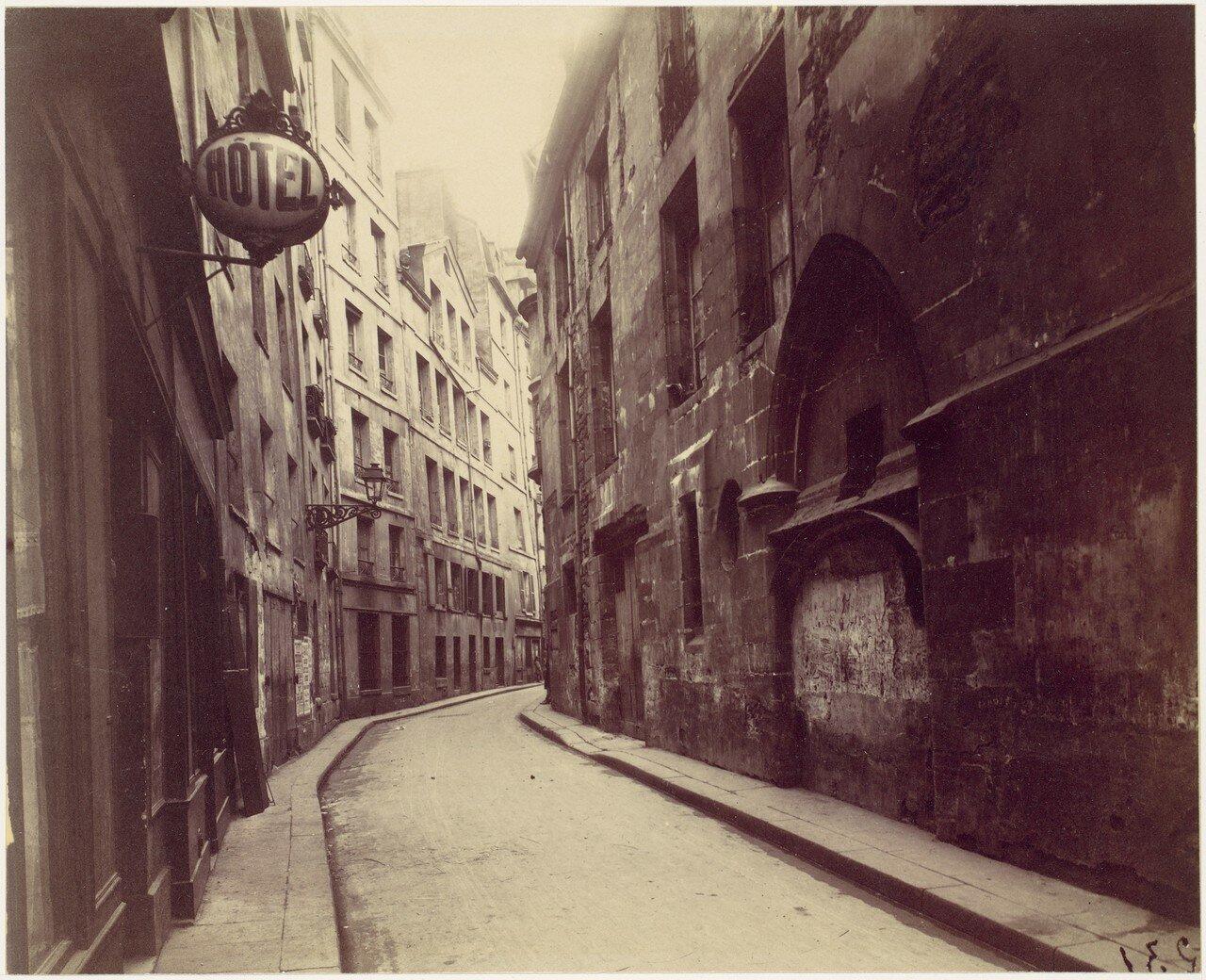 1900. Отель де Санс. Улица Отель-де-Виль