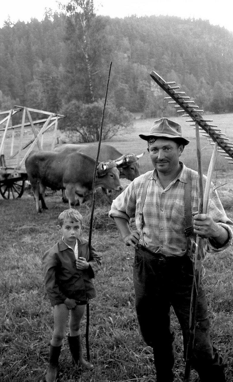 1969. Крестьяне из Лаваль-Атже