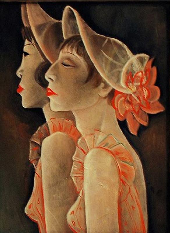 Девушки из кабаре(Showgirls) 1928 Жанна Маммен (1890-1976);
