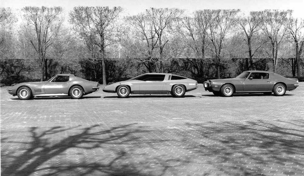This must be an early third generation F-car proposal being compared to a production Corvette and Firebird. If the comparison cars were new, then this can't be later than 1972.jpg