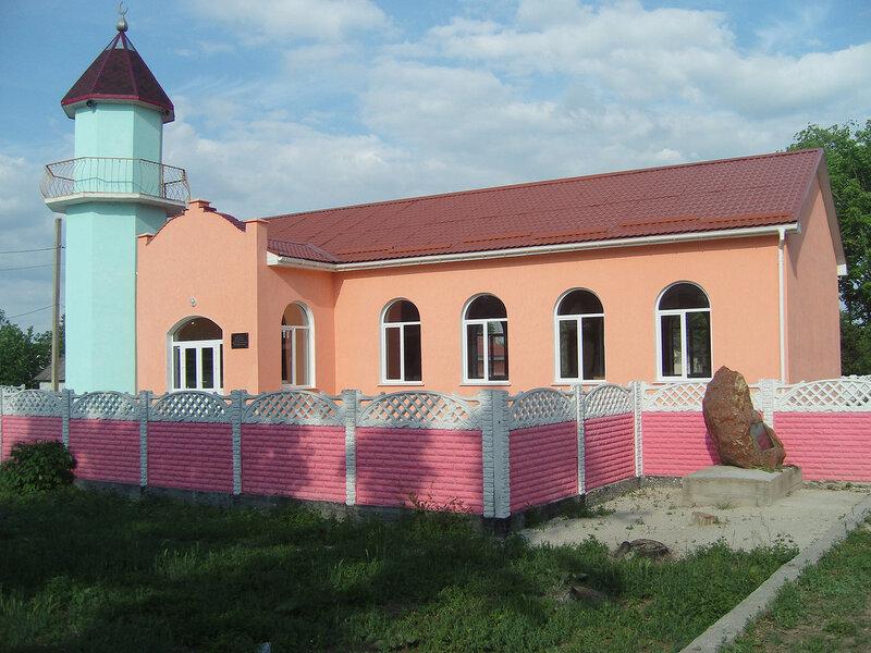 мечеть в селе Зеленогорское (Эфендикой)