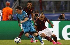 ЛЧ: «Рома» и «Барселона» не смогли определить победителя
