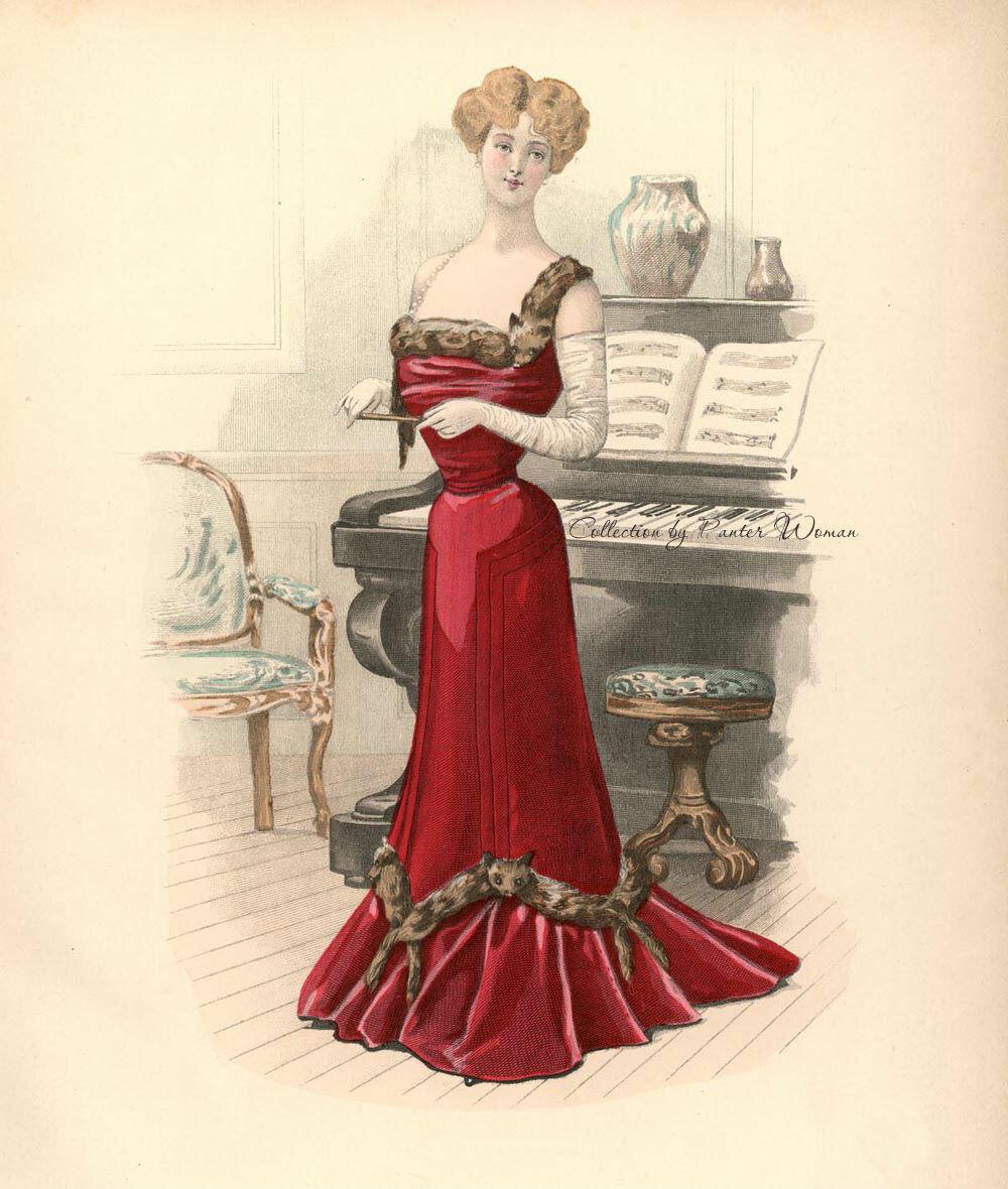 Victorian era ladies fashion Victorian Fashion Terms; N Z Kate Tattersall