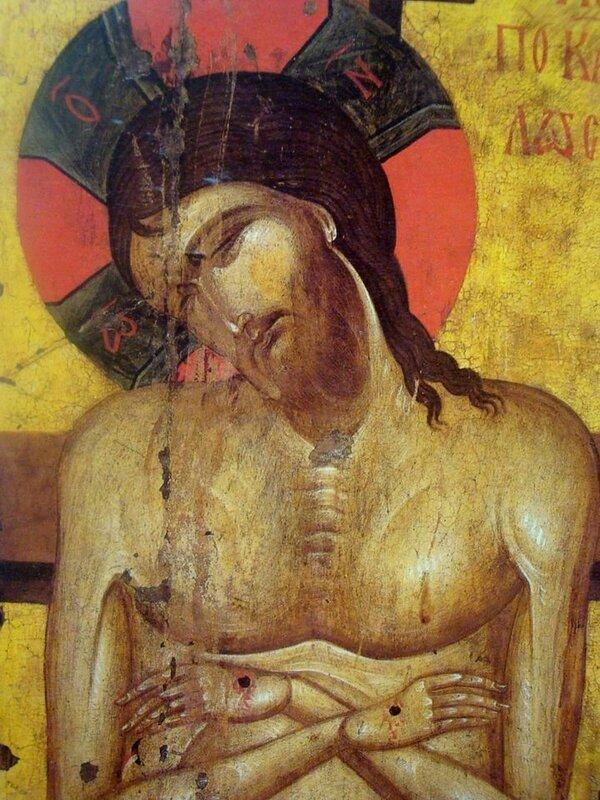 """Христос во гробе (""""Не рыдай Мене, Мати..."""")."""