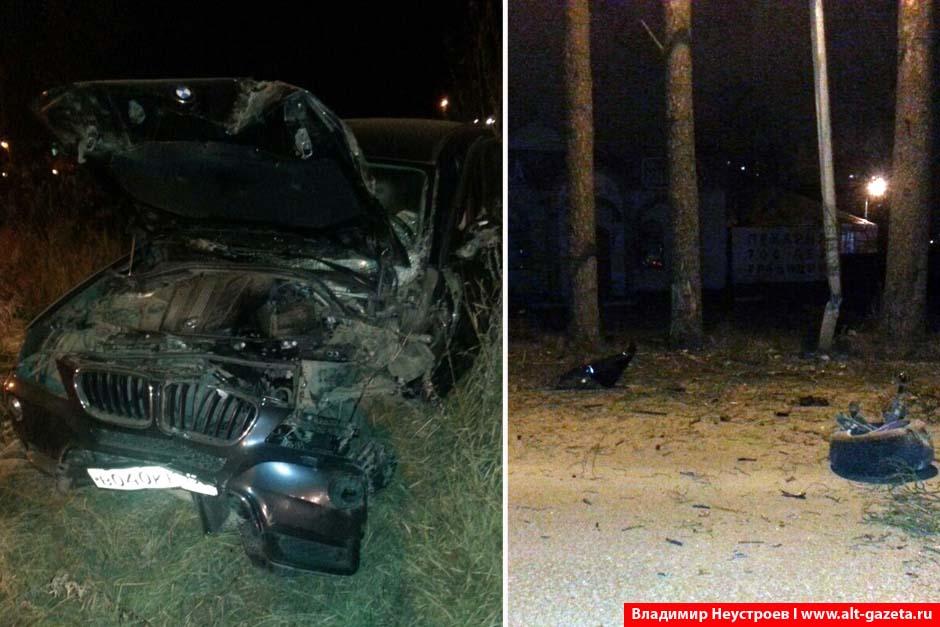 В ДТП у конюшни пострадала девушка из BMW X5