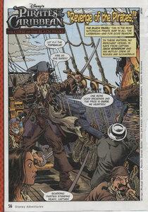 """Комиксы """"Пираты Карибского моря"""". """"Revenge of the Pirates!"""""""