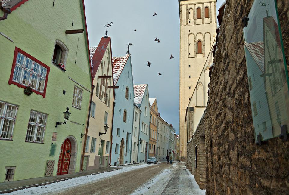 Таллин зимой