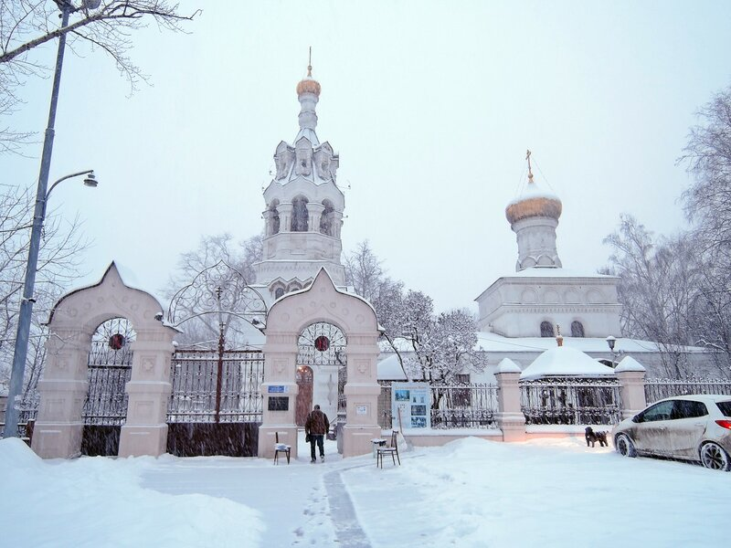 Храм Илии Пророка в Черкизове