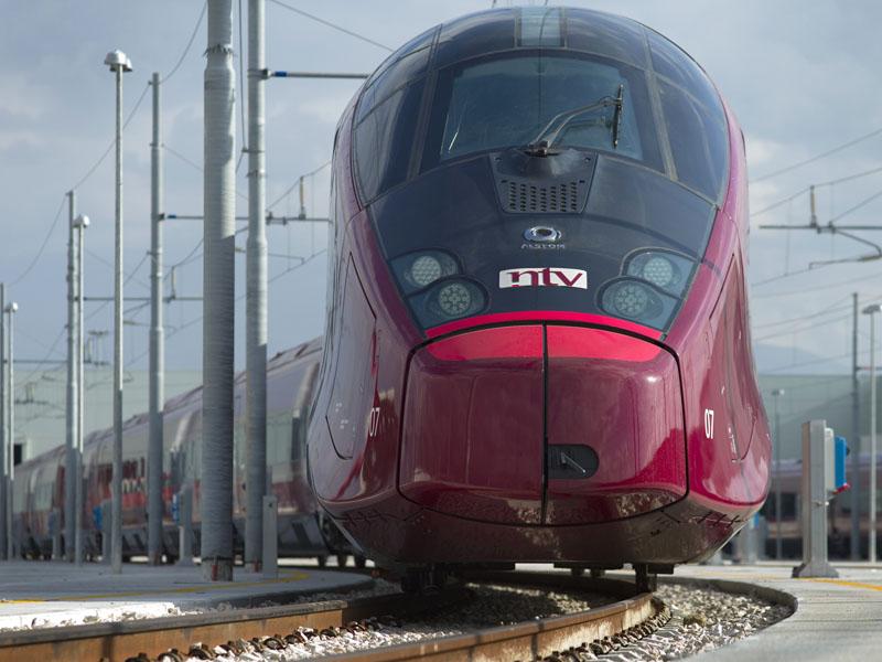 Скоростной поезд ItaloTreno